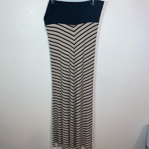 Arden B Medium Striped Skirt
